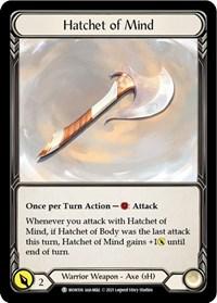 Hatchet of Mind // Spectral Shield
