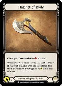 Hatchet of Body // Spectral Shield
