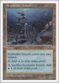Svyelunite Temple, Magic: The Gathering, Fifth Edition