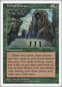 Sylvan Library, Magic: The Gathering, Fifth Edition