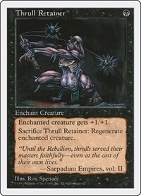 Thrull Retainer, Magic: The Gathering, Fifth Edition