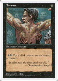 Torture, Magic: The Gathering, Fifth Edition