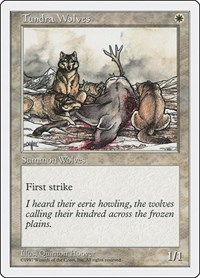 Tundra Wolves, Magic, Fifth Edition