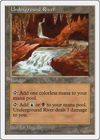 Underground River, Magic: The Gathering, Fifth Edition
