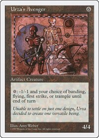Urza's Avenger, Magic: The Gathering, Fifth Edition