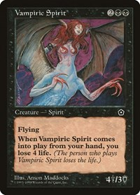 Vampiric Spirit, Magic, Portal Second Age