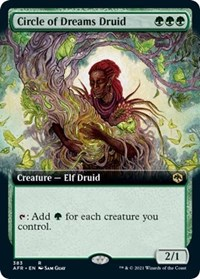 Circle of Dreams Druid (Extended Art) (Foil)