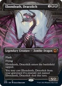 Ebondeath, Dracolich (Extended Art) (Foil)