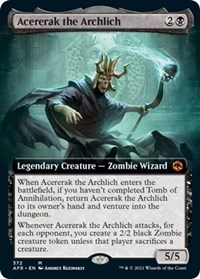 Acererak the Archlich (Extended Art)