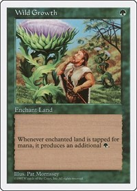 Wild Growth, Magic: The Gathering, Fifth Edition