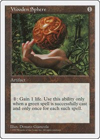 8x Wooden Sphere NM MTG Fifth Edition 5th Magic