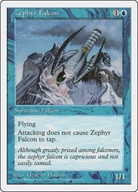 Zephyr Falcon, Magic: The Gathering, Fifth Edition