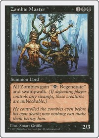 Zombie Master, Magic: The Gathering, Fifth Edition