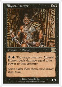 Abyssal Hunter, Magic, Classic Sixth Edition