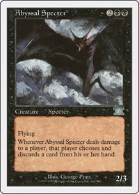 Abyssal Specter, Magic: The Gathering, Classic Sixth Edition