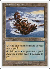 Adarkar Wastes, Magic: The Gathering, Classic Sixth Edition