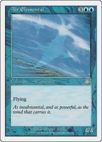 Air Elemental, Magic, Classic Sixth Edition