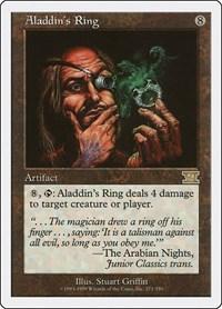 Aladdin's Ring, Magic: The Gathering, Classic Sixth Edition