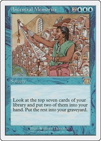 Ancestral Memories, Magic: The Gathering, Classic Sixth Edition