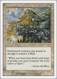 Animate Wall, Magic: The Gathering, Classic Sixth Edition