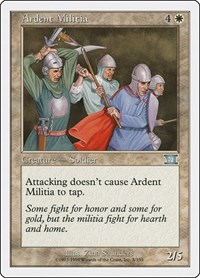 Ardent Militia, Magic: The Gathering, Classic Sixth Edition