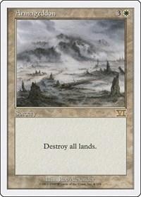 Armageddon, Magic: The Gathering, Classic Sixth Edition