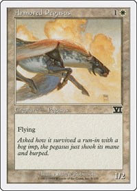 Armored Pegasus, Magic: The Gathering, Classic Sixth Edition
