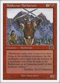 Balduvian Barbarians, Magic: The Gathering, Classic Sixth Edition