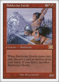 Balduvian Horde, Magic, Classic Sixth Edition