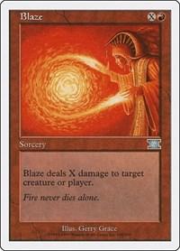 Blaze, Magic: The Gathering, Classic Sixth Edition