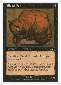 Blood Pet, Magic: The Gathering, Classic Sixth Edition