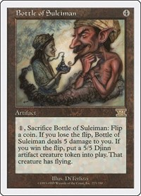 Bottle of Suleiman, Magic: The Gathering, Classic Sixth Edition