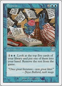 Browse, Magic: The Gathering, Classic Sixth Edition