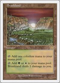Brushland, Magic: The Gathering, Classic Sixth Edition