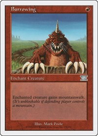 Burrowing, Magic: The Gathering, Classic Sixth Edition