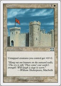 Castle, Magic: The Gathering, Classic Sixth Edition