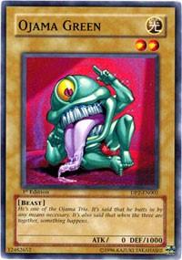 Ojama Green, YuGiOh, Duelist Pack 2: Chazz Princeton