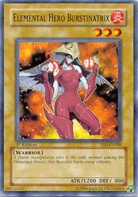 Elemental Hero Burstinatrix, YuGiOh, Starter Deck 2006