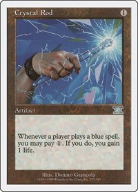 Crystal Rod, Magic: The Gathering, Classic Sixth Edition