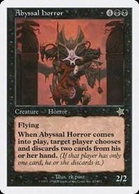 Abyssal Horror, Magic: The Gathering, Starter 1999
