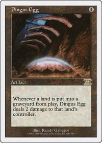 Dingus Egg, Magic: The Gathering, Classic Sixth Edition