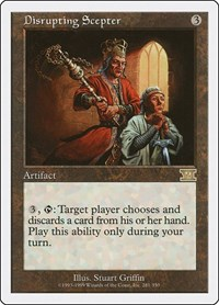 Disrupting Scepter, Magic: The Gathering, Classic Sixth Edition