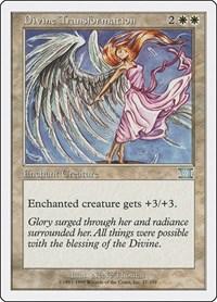 Divine Transformation, Magic: The Gathering, Classic Sixth Edition