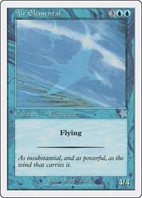 Air Elemental, Magic: The Gathering, Starter 1999