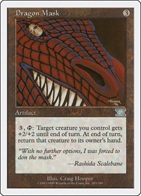 Dragon Mask, Magic: The Gathering, Classic Sixth Edition