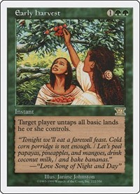 Early Harvest, Magic: The Gathering, Classic Sixth Edition