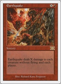 Earthquake, Magic, Classic Sixth Edition