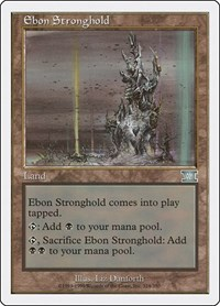 Ebon Stronghold, Magic: The Gathering, Classic Sixth Edition