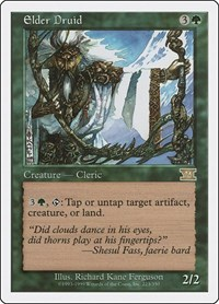 Elder Druid, Magic: The Gathering, Classic Sixth Edition