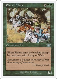 Elven Riders, Magic: The Gathering, Classic Sixth Edition
